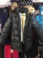 Тёплая зимняя куртка для мальчика