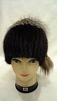Женская зимняя меховая шапка (код 66), фото 1