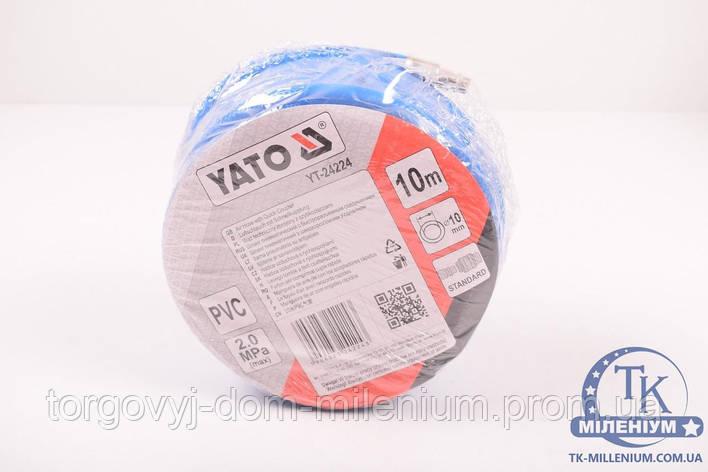 Шланг пневматический YATO полиуретановый l=10 m YT-24224, фото 2