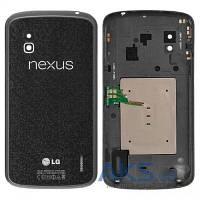 Задняя часть корпуса (крышка аккумулятора) LG E960 Nexus 4 Black