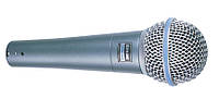 Микрофон проводной вокальный Shure Beta 58A, динамический микрофон shure