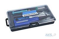 Паяльник Zhongdi Industry Паяльный набор ZD-972E с паяльником на батарейках (7 инструментов в кейсе)