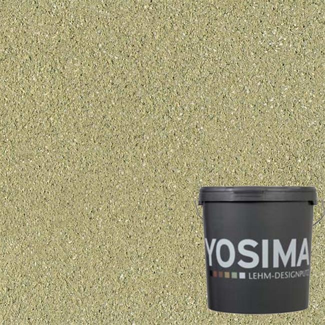 Декоративная штукатурка YOSIMA GRGE 1.0 тростниково-желтый 20 кг