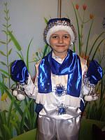 Новогодний костюм Снеговик с морковкой, размеры от 86 см до 140 см