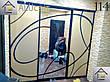 Двери купе (межкомнатные перегородки, гардеробные) на монорельсе ДСП, зеркало, фото 4
