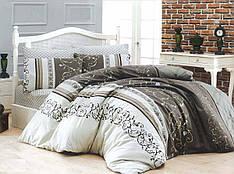 Двуспальный комплект постельного белья евро 200*220 хлопок  (8770) TM KRISPOL Украина