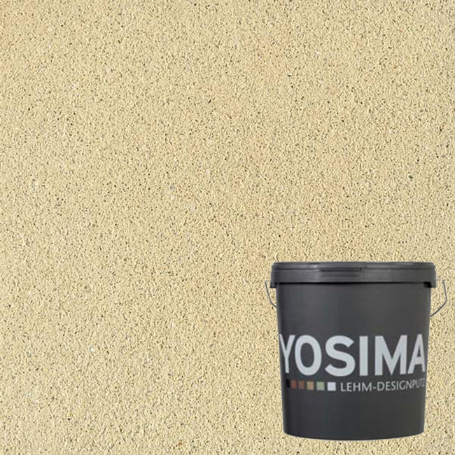 Декоративная штукатурка YOSIMA GRGE 2.2 тростниково-желтый 20 кг