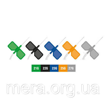 "Катетер периферический тип ""Бабочка"", Vogt Medical, размер 21G, фото 2"