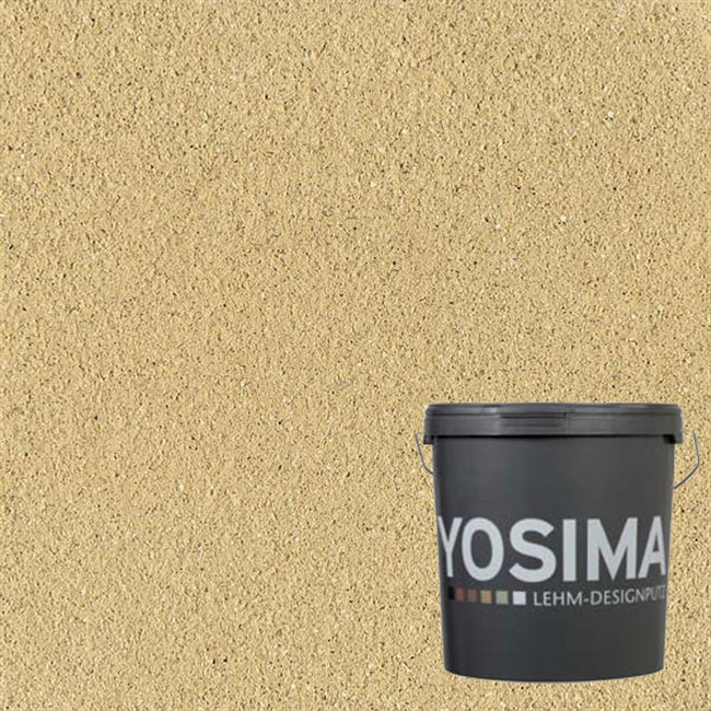 Декоративная штукатурка YOSIMA GRGE 3.1 тростниково-желтый 20 кг
