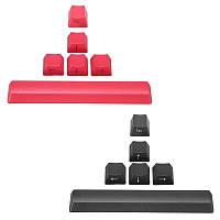 ESC Пробел Направляющая Ключ OEM-профиля PBT Side Printed Keycaps Черный и красный