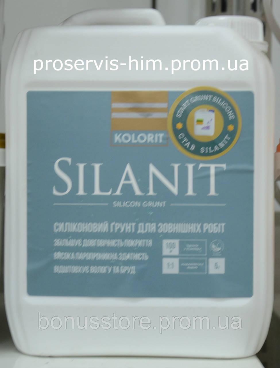 Силиконовый грунт для наружных работ Silanit 10л - ПРОФ-ХИМ express в Виннице