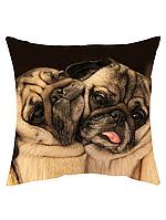 Подушка с собакой