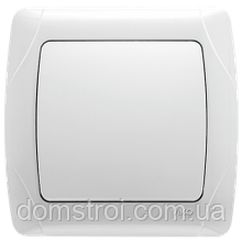 Выключатель VIKO Carmen 1-клав. белый