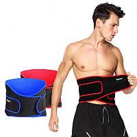Спортивная подставка для талии с подвязкой Регулируемая дышащая, поддерживающая теплый вес