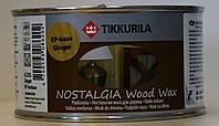 Масло воск для дерева Tikkurila Nostalgia Raisin (Изюм) 0,333л
