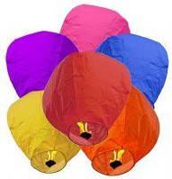 Небесный фонарик Купол Премиум качество 1м(летающий горящий шар,светящийся шарик,Китайский воздушный бумажный)