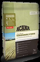 Корм ACANA (Акана) Singles YORKSHIRE PORK для собак всех пород и возрастов, с свининой 11,4 кг