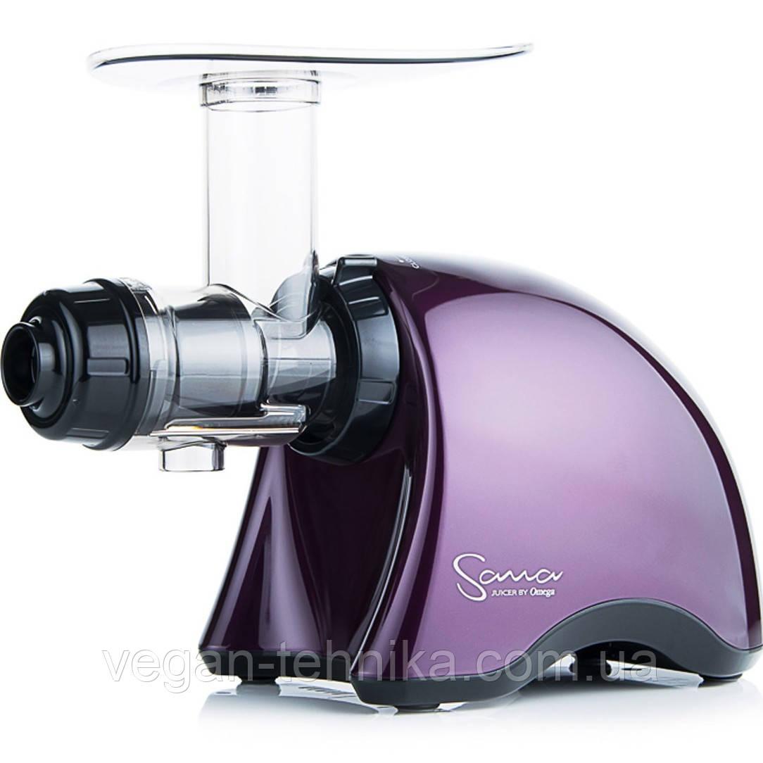 Шнековая соковыжималка Sana Juicer 707 Purple plum