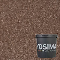 Декоративная штукатурка YOSIMA  SCRO 1.0 сиена-коричневый 20 кг