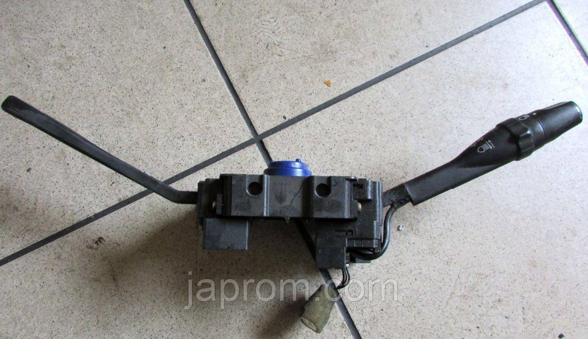 Подрулевой переключатель света фар и дворников Nissan Almera N15 без Airbag 5 дв хетч