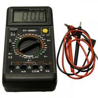 Мультиметр Ресанта DT 890B+ тестер, амперметр, вольтметр, омметр цифровой