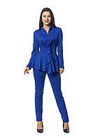 Женский  костюм двойка большого размера Мейди A4 красивый в интернет магазине по распродаже