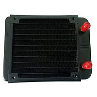 10 Трубка/18 Трубка Радиатор с водяным охлаждением для охлаждения воды для кондиционирования воздуха Компьютерный процессор