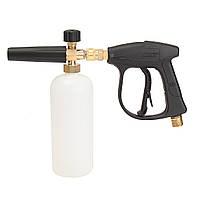 1L 3000PSI Мойка высокого давления Снежная пена Копченая канализация Щетка Фитинги Clean Gun
