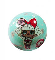 Кукла LOL surprise в шаре (диаметр 6,5 см) (бирюзовый шар)