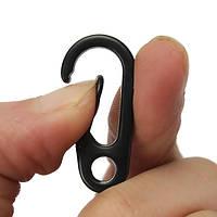 EDC Gadget Брелок Карабин Clip Split Ring Кольцо с пружинным зажимом