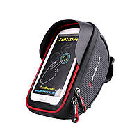 6inch Водонепроницаемы Touch Sceen Мобильный телефон GPS Сумка Руль Mouting