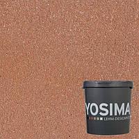 Декоративная штукатурка YOSIMA  SCRO 4.1 сиена-коричневый 20 кг