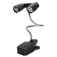 IPRee™Регулируемый6светодиодовЗажим для гриля для гриля Кемпинг Гриль для пикника для гриля Bright Лампа