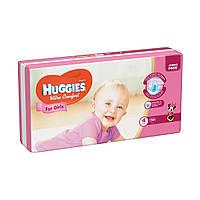 Подгузники Huggies Ultra Comfort для девочек 4 (7-16 кг) 50 шт.