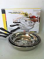 Набор сковородок, диаметр 22,24,26 см