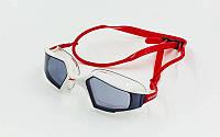 Очки для плавания SPEEDO  AQUAPULSE (поликарбонат, TPR, силикон, цвета в ассорт), фото 1