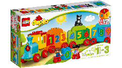 Конструктор LEGO Потяг з цифр 10847