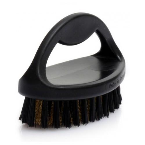 Большая щетка для чистки одежды и обуви из замши