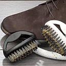 Большая щетка для чистки одежды и обуви из замши, фото 3