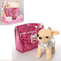 Собачка Кикки M 3642 UA интерактивная в сумочке (аналог Chi Chi Love)