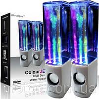 Колонки фонтан WATER DANCING SPEAKERS. Колонки с фонтаном. Мощные колонки. Колонки для ноутбука, для телефона