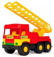 Игрушка Wader Middle Truck пожарная машина (39225)