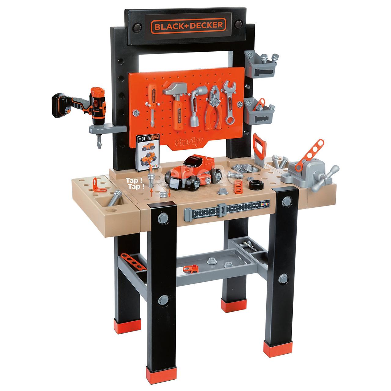 Мастерская инструментов Black & Decker Smoby 360701