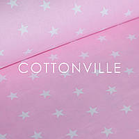 ✁ Отрезы ткани Звездочки на розовом, фото 1
