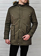 Мужская зимняя куртка, парка. Оплата при получении!