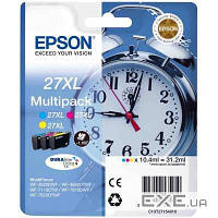 Картридж EPSON 27XL WF-7620 Bundle (C,M,Y) XL (C13T27154020/ C13T27154022) (C13T27154020)