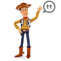 Интерактивный ковбой Вуди История игрушек Дисней Woody Talking Figure шериф
