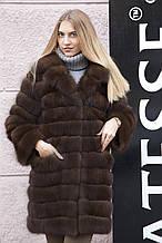 "Шуба з канадської куниці ""Кірсана"" canadian marten fur coat jacket"