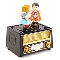 Пластиковые Classic Музыка Коробка Ретро стиль Симпатичные дети для детей Игрушки подарок
