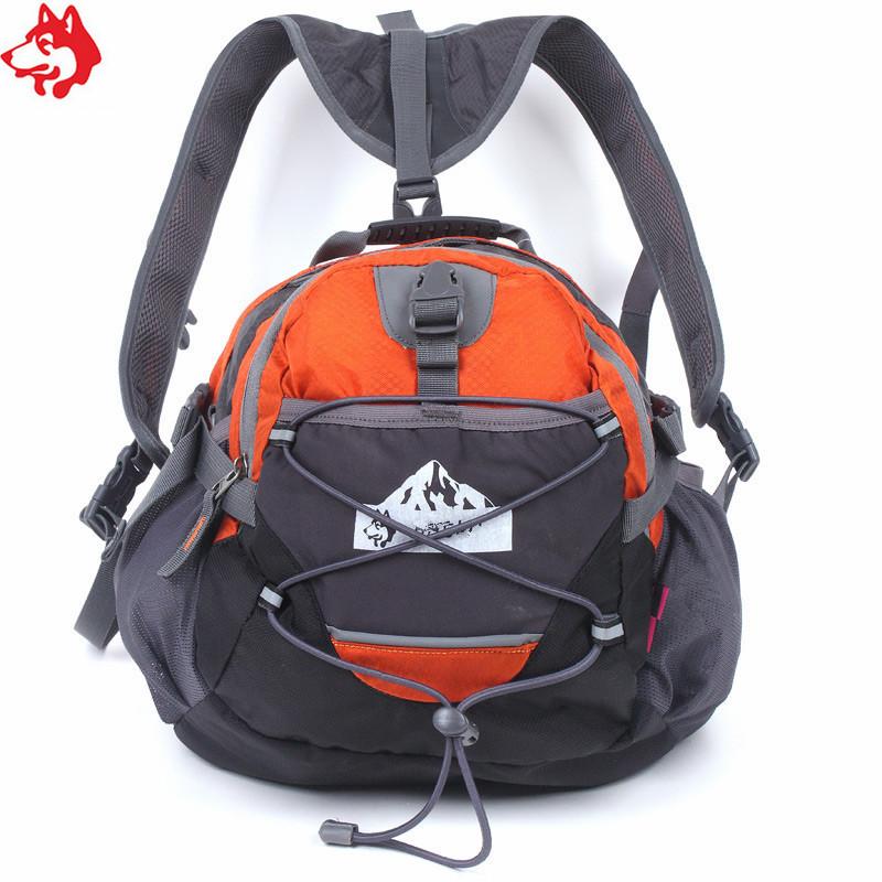 Сумка на пояс - рюкзак Jungle King оранжевая